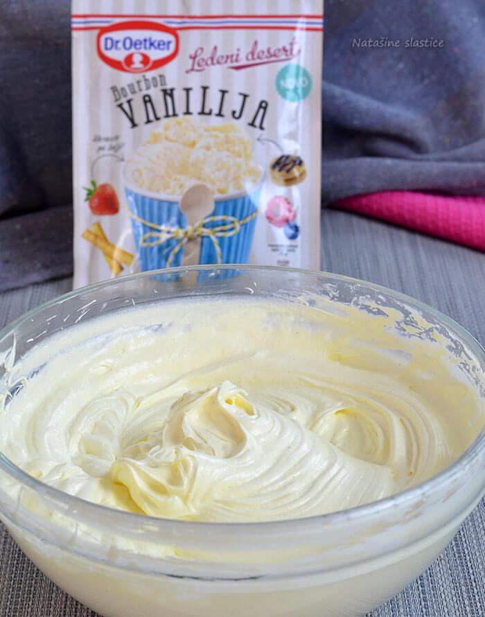 sladoled krema od vanilije