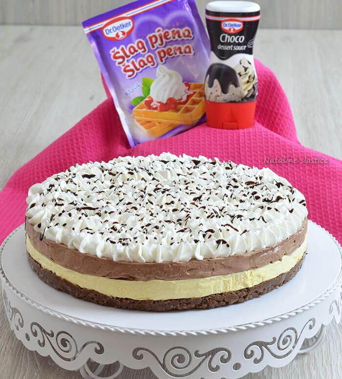 zamrznuta torta