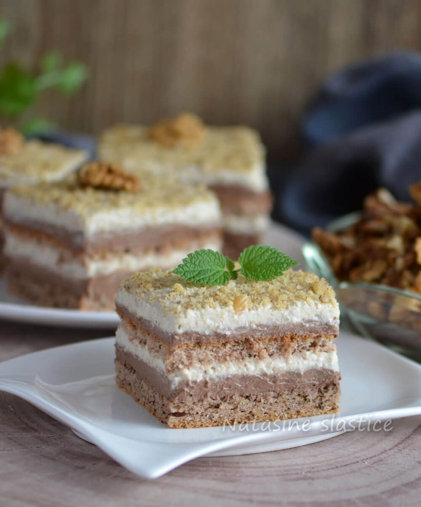 mekani kolač s orasima