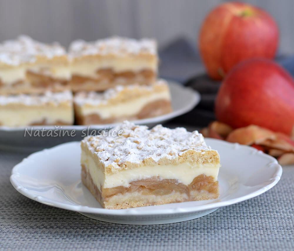 pita s jabukama i vanilijom