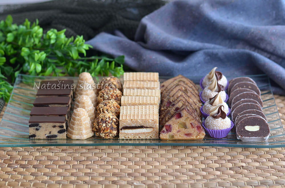 7 vrsta kolača od jedne smjese
