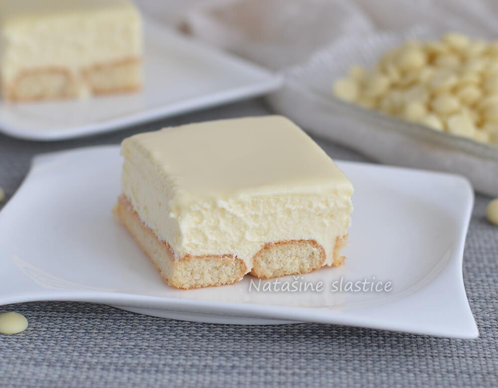 kolač od bijele čokolade