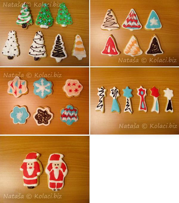 dekoracija božićnih kolača