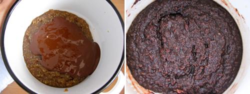 otopljena čokolada