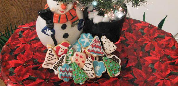 šareni božićni keksići