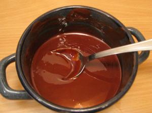 topljena čokolada
