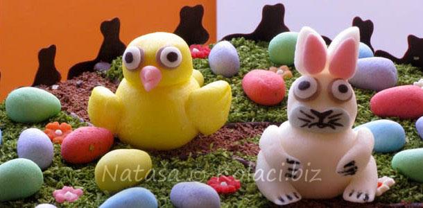 ukrašavanje torte za uskrs